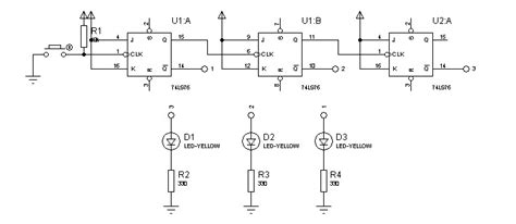 Counter Isi 3 circuit desolator 3 bit jk counter circuit