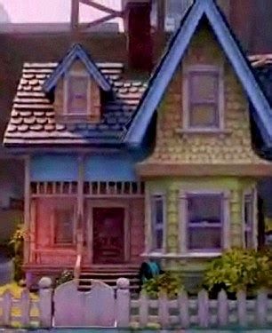 film up home video the house from disney film up rebuilt in by american
