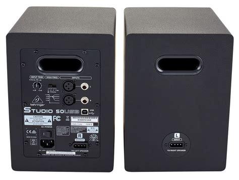 Speaker Aktif Monitor Behringer Studio 50 Usb Original jual behringer studio 50usb studio 50 usb 5 quot usb studio monitor speaker digital musik