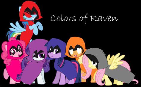 ravens colors speedpaint mlp colors of colors