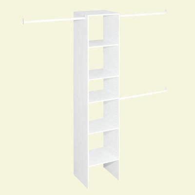 Stack A Shelf Closet Rod Custom Closets Home Depot And Closet On