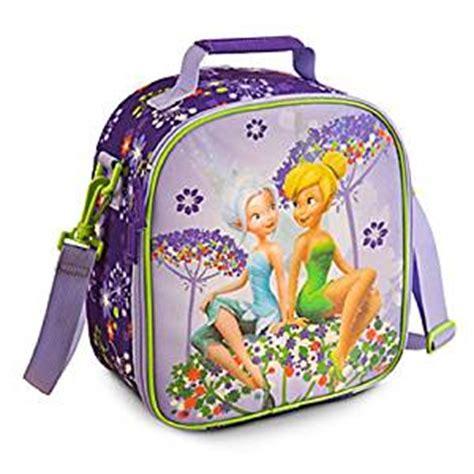 Totebag Backpack Go Left disney store tinker bell fairies lunch box