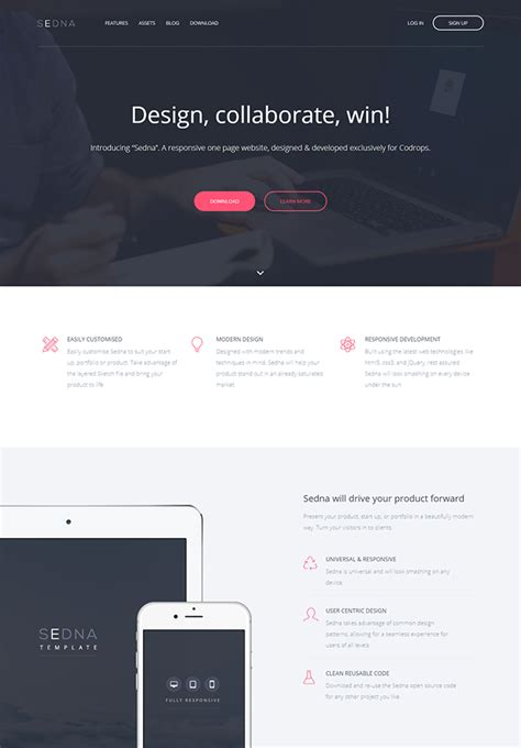 html product page template free 20 free html landing page templates built with html5 and
