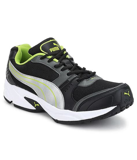 buy argus black sport shoes for snapdeal