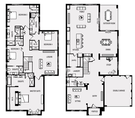 home layout floor plan our whittaker metricon home