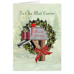 mail carrier cards mail carrier card templates postage invitations photocards more zazzle