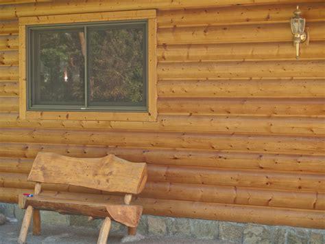log siding refinishing duluth mn country cedar creek