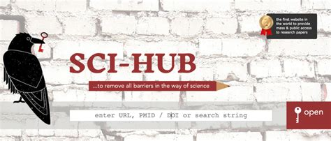 sci hub the winnower signal not solution notes on why sci hub