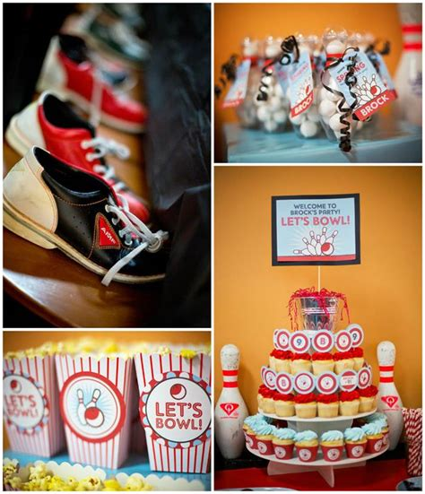 kara s ideas bowling birthday planning ideas