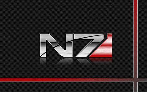 N7 Mass Effect mass effect n7 logo wallpaper by pyrogx2000 on deviantart