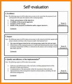 6 self appraisal example day care resume