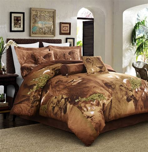 safari comforter set tiger and jungle theme bedding ease bedding with style