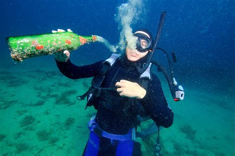 dive and dive the martini effect in scuba diving