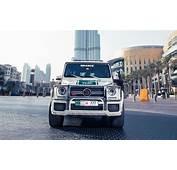 Brabus B63S 700 Widestar The Latest Dubai Police Car
