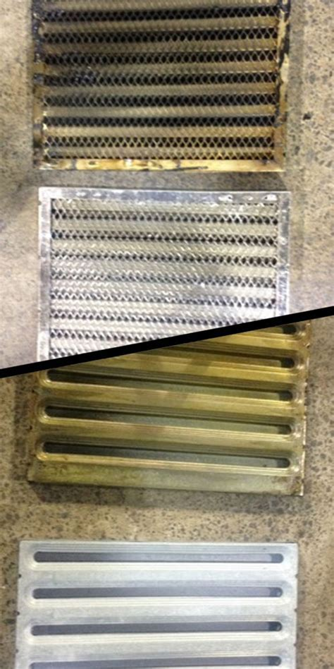 Grease Filter Cleaning   Professional and Commercial Kitchen