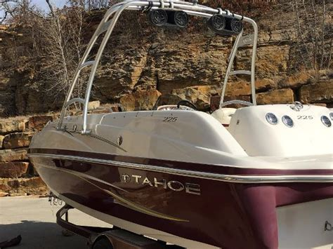 deck boats for sale oklahoma tahoe boats for sale in oklahoma