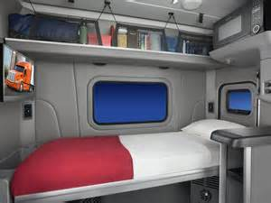 peterbilt unveils new 58 inch sleeper berth