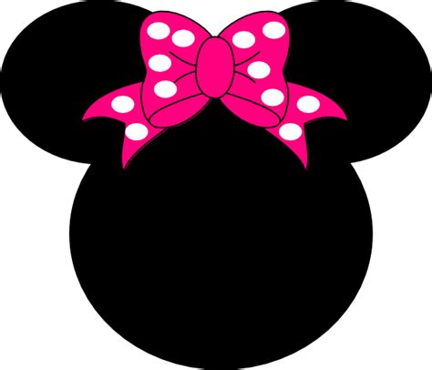 free downloadable minnie mouse head template clipart best