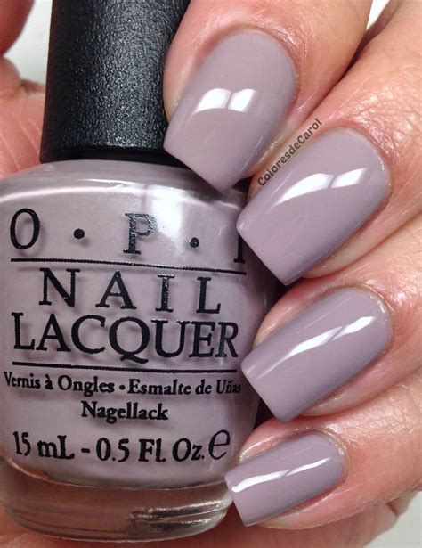 less color opi quot taupe less quot nail shellac from opis