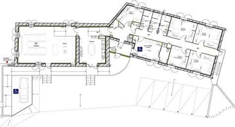 plan de maison 5 chambres plan de maison plein pied en v