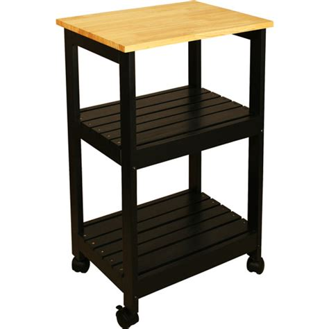 Walmart Kitchen Utility Cart by Catskill Craftsmen Utility Kitchen Cart Black Walmart