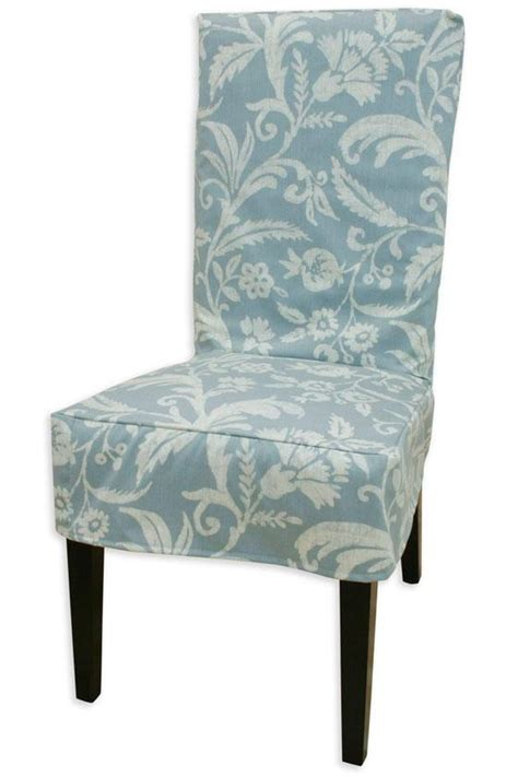 Slip Covers For Dining Chairs by Blue Slipcover For Dining Room Chairs Decorating Ideas
