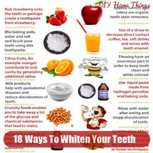 ways to whiten your teeth at home 18 ways to whiten your teeth at home diy home things