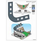 Wrigley Field Paper Model  FREE Toys And Models At