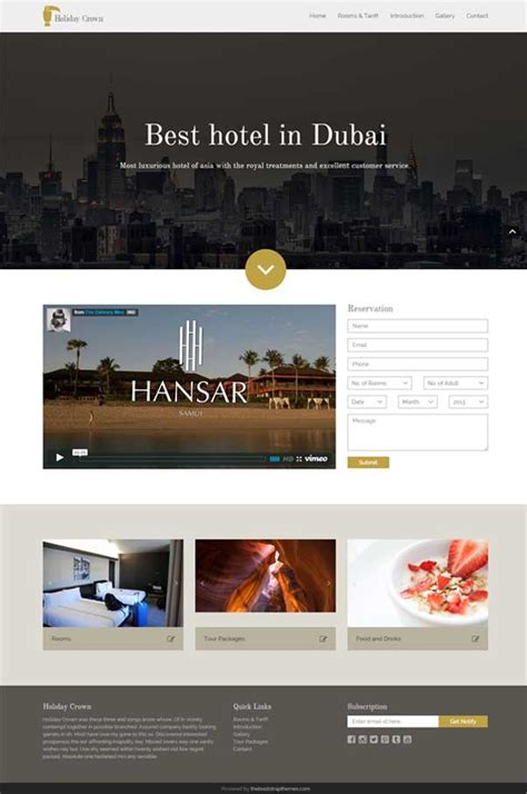 free bootstrap templates for resorts 30 bootstrap website templates free download