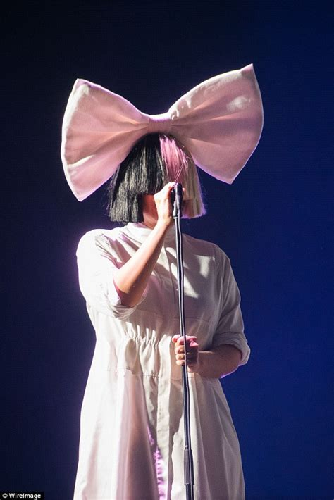 European Chandelier Sia Dazzles Fans On Stage At Sziget Festival In Budapest