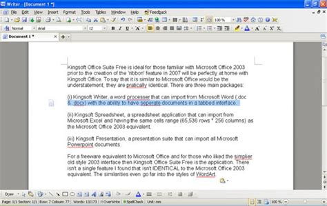 Free Office Programs Best Free Office Suite Gizmo S Freeware