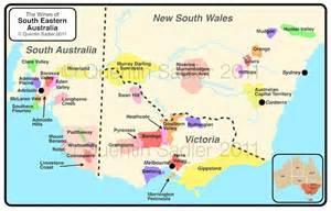south eastern australia map circe wines mornington peninsula australia