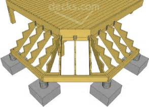 Handrail Support Spacing Decks Com Building Cascading Or Wrap Around Stairs
