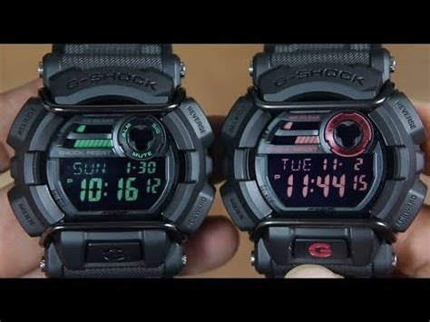 Casio Gd 400mb 1 casio g shock gd 400mb 1 vs g shock gd 400 1