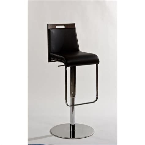 Stainless Steel Swivel Bar Stools by Error