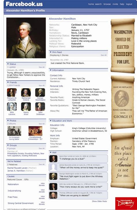 farcebook mr freeman s history site