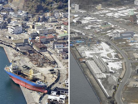 in japan there are 3 photos tohoku three years after the 3 11 earthquake and
