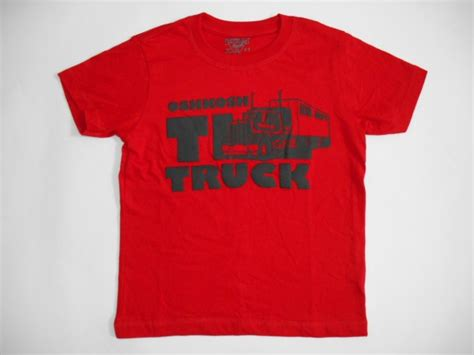 Baju Kaos Anak Laki Laki Truck Baby Size baju anak oshkosh truck merah baju anak branded