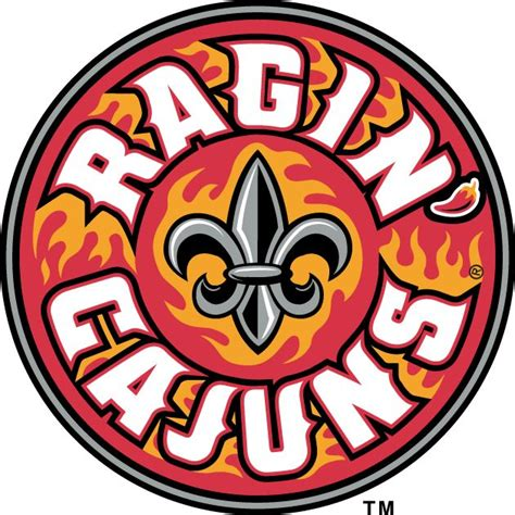 Ragin Cajun 453 best images about colleges logos sports teams on