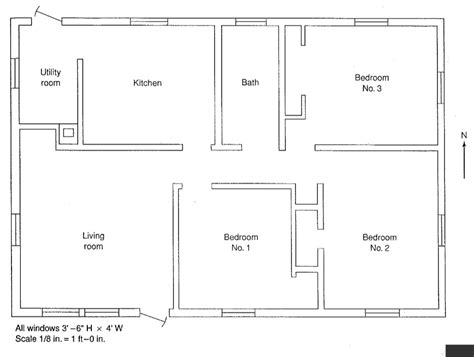 floor plan scale calculator using the floor plan below calculate the heat los