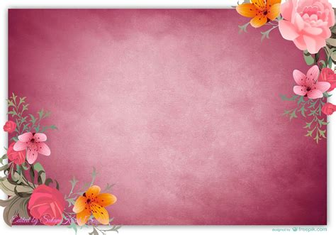 Lukisan Set Bunga Mini Cantik freebies koleksi background bunga cards lawa