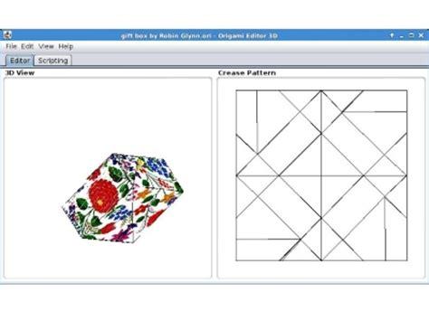 3d Origami Software - origami editor 3d downloaden gratis origami software