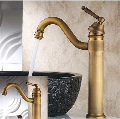 vintage style bathroom sink vintage style tall antique basin faucet brass bathroom