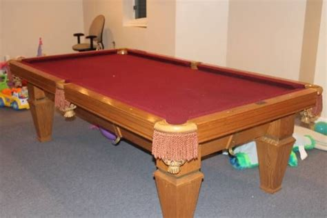 Meja Billiard Brunswick Camden Iii 8 8 brunswick billiards citadel used pool tables for sale