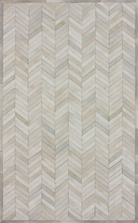 rosenberry rugs chevron cowhide rug in modern rugs by rosenberry rooms