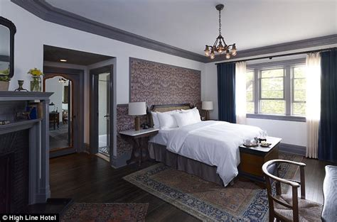 highline room hotel review stylish high line hotel raises the bar in new york s chelsea daily mail