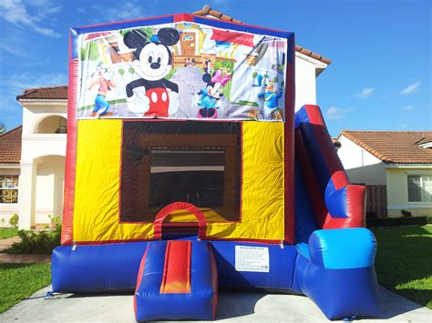 mickey mouse bounce house 4 in 1 mickey mouse bounce house choice party rental miami