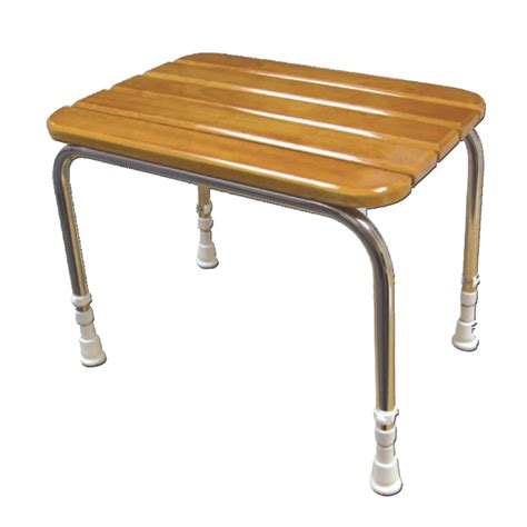 wooden shower stool akw international