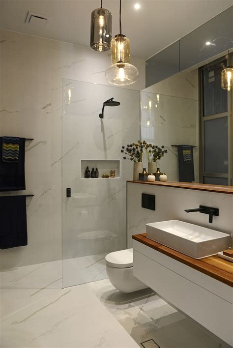 small bathroom ideas australia the block glasshouse week 8 room reveals marble wall