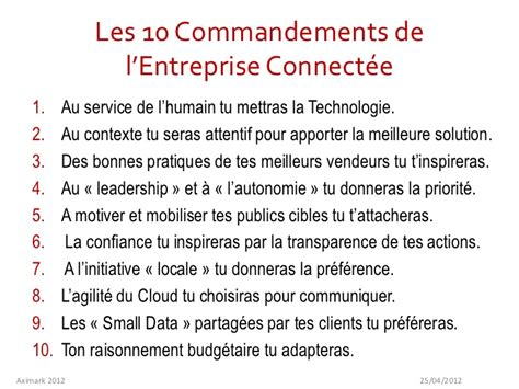 Best Chef Resume by Les 10 Commandements De L Entreprise Connect 233 E
